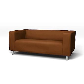 Replacement Cotton Cover for Ikea Klippan 2 Seater Sofa - Brown