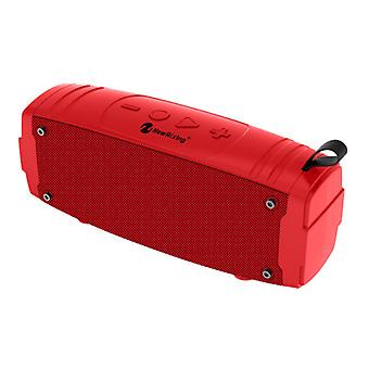 NewRixing Soundbox Wireless Speaker Bluetooth 5.0 External Wireless Speaker Red