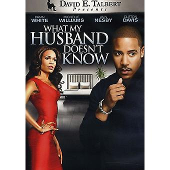 What My Husband Doesn't Know [DVD] USA import