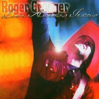 Roger Creager - Live Across Texas [CD] USA import