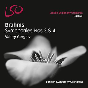 Brahms / Gergiev / London So - Syms 3 & 4 [SACD] USA import