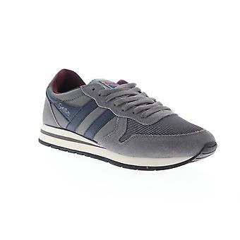Gola Daytona  Mens Gray Mesh Lace Up Lifestyle Sneakers Shoes