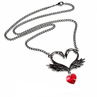 Alchemy - the black swan romance - pendant necklace