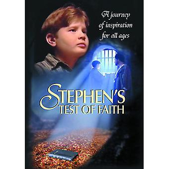 Stephen's Test of Faith [DVD] USA import