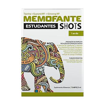 Memofante Students Shots 7 vials of 25ml