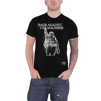 Rage Against the Machine T Shirt Bola Album Cover Tracks nouveau Officiel Mens Black