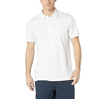 28 Palms Men's Relaxed-Fit Performance Cotton Tropical Print Pique Golf Polo ...