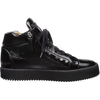 Giuseppe Zanotti Women's Shoes RW90012 Hight Top Lace Up Fashion Sneakers