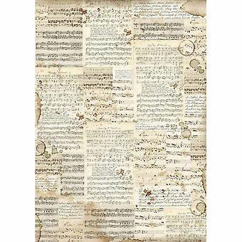 ورقة الأرز A3 الموسيقى (DFSA3004)