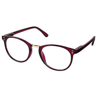 Reading glasses Unisex Libri_x pink thickness +1.0