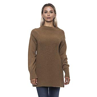 Alpha Studio Acero Long Crew Neck Sweater