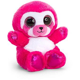 Keel Toys Animotsu Pink Sloth