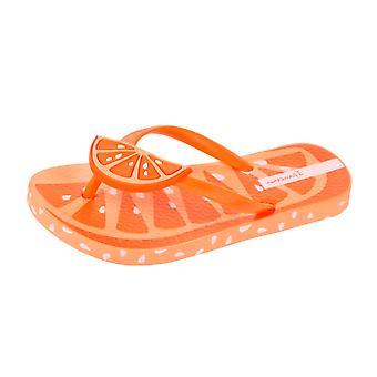 Ipanema Tutti Frutti Girls Beach Flip Flops / Sandals - Orange