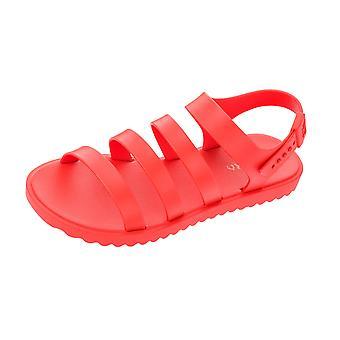 Womens Zaxy Spring Sandal  Beach Flip Flops - Red
