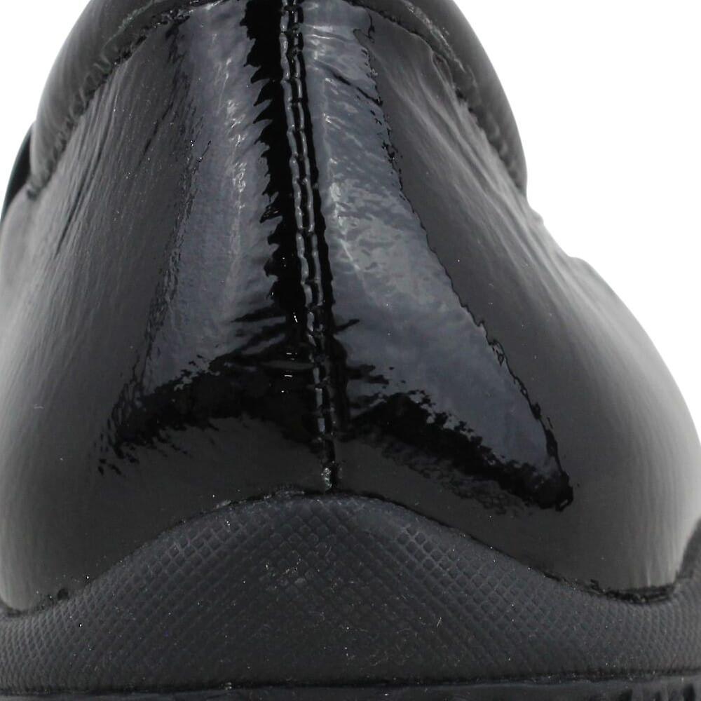 Soft Walk High Point Black Patent S1466-005 Women's