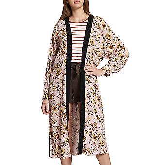Sanctuary | Printed Long-Sleeve Calico Kimono