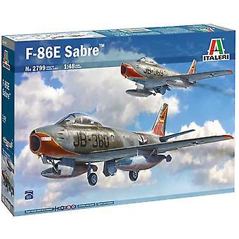 Italeri 2799 F-86e Sabre 1 48 Plastic Model Kit