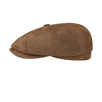 Stetson Leather Eight Panel Cap