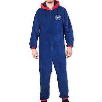 PSG Officiel Football Cadeau Homme Pyjama Pyjama Pyjama Tout-en-Un