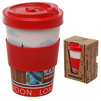 Bamboo Composite London Screw Top Travel Mug X 1 Pack
