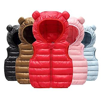 Baby Boy Clothes. Winter Vests Down Cotton Hoodies Newborn Kids
