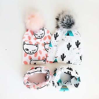 Zimná detská čiapka - Deti Teplá kapota
