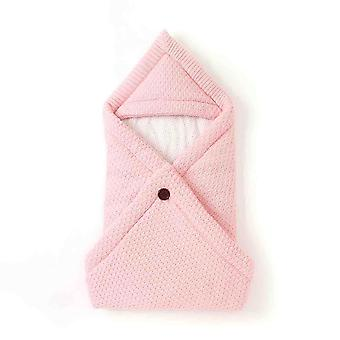 Baby Sleeping Bags- Envelope Candy Color Knitted Cocoon For Newborns Bebes