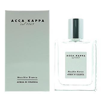 Acca Kappa Muschio Bianco - White Moss Eau de Cologne 50ml Spray Unisex - NEW.