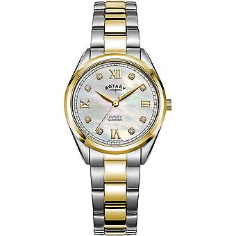 Ladies Watch Rotary LB05111/41/D, Quartz, 30mm, 5ATM