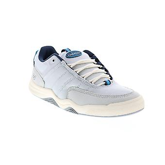 ES Evant  Mens Gray Canvas Skate Inspired Sneakers Shoes