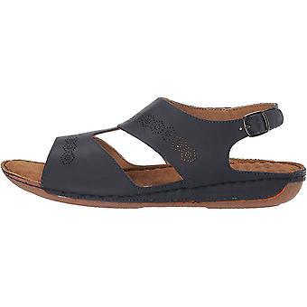Easy Street Women's Sloane Comfort Wave Flat Sandal