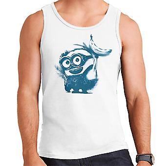 Despicable Me Bob The Minion Banana Art Men's Vest