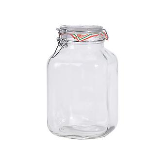 Excellent Housewares Storage Jar With Clip Lid 300cl ST1900140