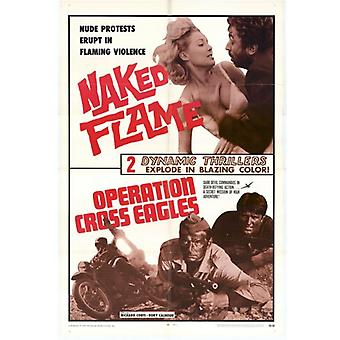 Operation Cross EaglesNaked Flame Comb Movie Poster (11 x 17)