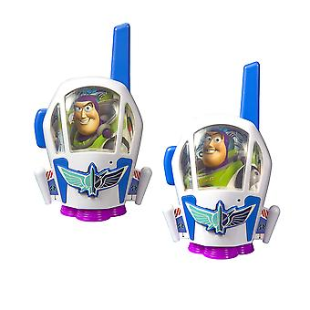 Toy story 4 walkie talkies for kids static free & extended range buzz lightyear