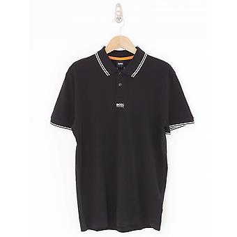 BOSS Casual Pchup Polo - Black