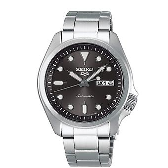 Seiko SRPE51K1 5 Sports Grey & Silver Stainless Steel Automatic Men's Montre