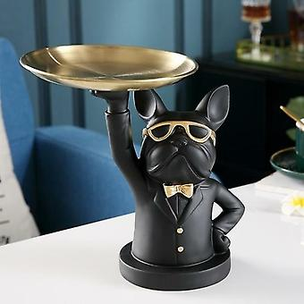 Decorative Figurine- Cool Bulldog Sculpture