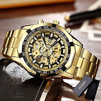 Men Watches, Stainless Steel Bracelet Sports Luxury Clock / Wristwatch
