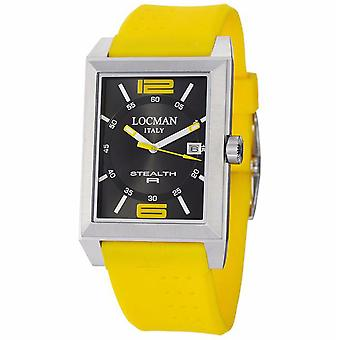 Locman Men's Classic Black Dial Watch - 240BKYL1YL