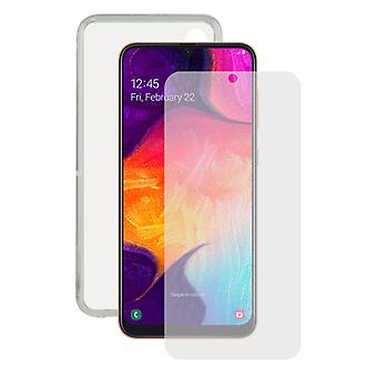Tempered Glass Mobile Screen Protector  Mobile Case Samsung Galaxy A30s/A50 Contact