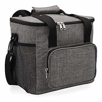 Lunch box Quid Go Metropoli Textile 15 L (28 x 22 x 26 cm)