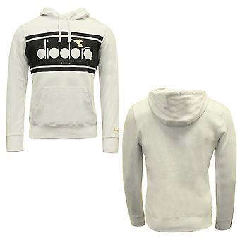 Diadora Sportswear Herren Hoodie Sweatshirt Pullover Weiß 502 173794 C0013 A48E