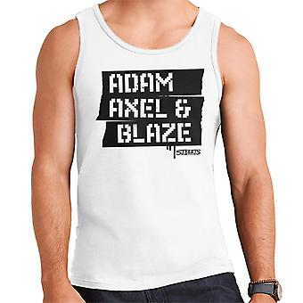Sega Calles de la ira Adam Axel y Blaze Hombres's Chaleco
