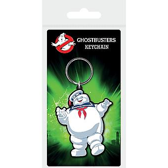 Ghostbusters Stay Puft Keyring