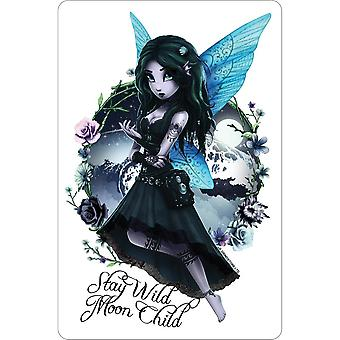 Hexxie Stay Wild Moon Child Brooke Plaque