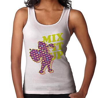 Slush Puppie Pattern Silhouette Mix It Up Women's Vest
