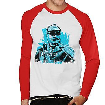 The Prisoner Number 113 Men's Baseball Long Sleeved T-Shirt