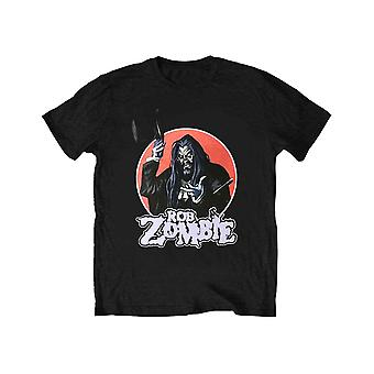 Rob Zombie Kids T Shirt Magician Logo new Official Black Ages 5-14 yrs