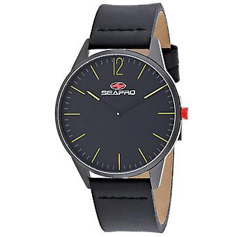Seapro Men-apos;s Black Hole Black Dial Watch - SP0102